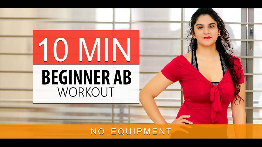 10 Minute Ab Workout For Beginners