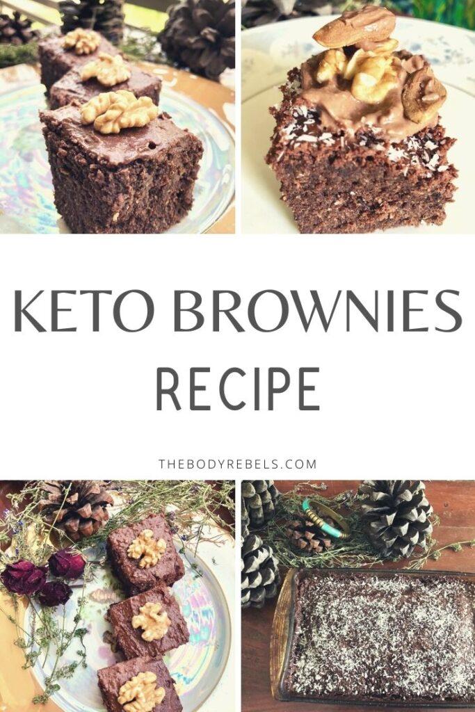 recipe for Keto brownies