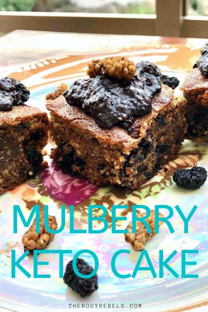 mulberry Keto cake